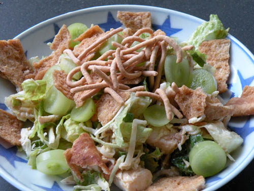 Chinese Chicken Salad by http://mybakingheart.com