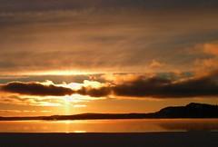 brilliant sunset (photoluver1) Tags: sunset sky cloud ice nature beauty sunrise outdoor dusk iceandsnow
