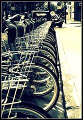 On yer bike (Bridget Francis) Tags: paris bike wheel line explore cycle velo explored onyerbike hpad170908