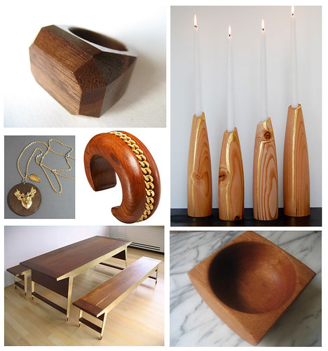 Things I Like: Wood and Gold