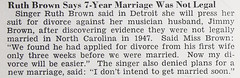 Singer Ruth Brown Says 7 Year Marriage Not Legal - Jet Magazine, May 13, 1954 (vieilles_annonces) Tags: old people usa black history vintage magazine print scans fifties photos african negro detroit 1954 retro ephemera nostalgia photographs american rights 1950s divorce singer blacks americana colored 50s magazines articles folks oldphotos civilrights newsclipping blackhistory vintagephotos africans africanamericanhistory negroes peopleofcolor vintagephotographs newsclippings ruthbrown vintagemagazine coloredpeople jimmybrown negrohistory coloredfolk blacknews