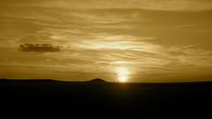 Sepia Sunset (Ilaria Corda IlaMila) Tags: sunset sepia tramonto seppia