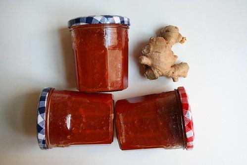 compota de tomate respigado