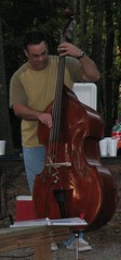 Charlie_0409c (hoyasmeg) Tags: music church ga georgia outside outdoors worship bass well charlie instrument service thewell presbyterian douglasville fpc pcusa hoyasmeg 815x1745