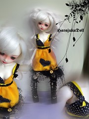 witch-chic x avluela (HarajukuDoll by killingsissy) Tags: fashion dolls dress handmade circus gothic goth style clothes polkadots bjd dollfie shaina burlesque commission abjd msd raveparty ludivine mnf dollclothes lati minifee latiblue asianballjointeddoll dollfashion harajukudoll handmadebjdfashion handmadefashionfordoll dollfiefashion bjdfashion slimmsd