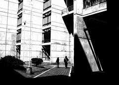 dejando las sombras atras (Clauminara) Tags: bw mxico mexico arquitectura mexicocity df shadows bn universidad autonoma metropolitana sombras ciudaddemexico xochimilco distritofederal uam mejico mjico uamx universidadautnomametropolitanaunidadxochimilco