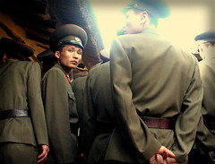 North Korean soldiers. (S