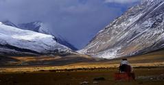 Nyenchen Tanglha range (reurinkjan) Tags: nature tibet 2008 changtang namtsochukmo nyenchentanglha tibetanlandscape tengrinor janreurink damshungcounty damgzung