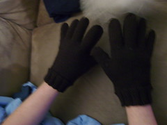 Dad's Ugly Brown Gloves