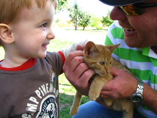 Keegan meets Kitty