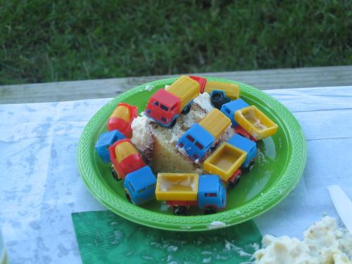 Birthday 2008: Truck Cake