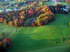 Colors Breaking Out - Kite Over Chester Springs PA USA (Wind Watcher) Tags: usa kite fall leaves wind chester pa springs kap watcher dopero windwatcher chdk