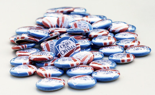 Ohio for Obama buttons