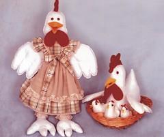 As Galinhas - A56 (Moldes videocurso artesanato) Tags: galinhas as a56