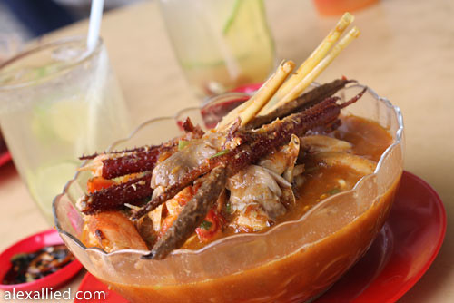 Glory Cafe's Asam Tom Yam Prawn Noodle