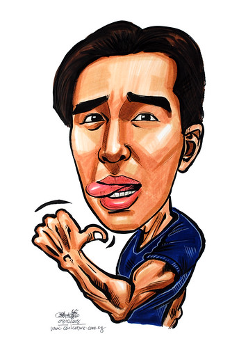 Caricature in colour 081008