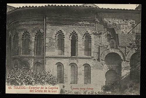 Mezquita del Cristo de la Luz (Toledo), a principios de siglo. Foto Linares