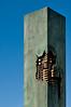 Copenhagen Defense (nosha) Tags: blue sky sculpture green art beauty copenhagen dark denmark coast nikon scandinavia 2008 defensive sentinel kobenhavn scandanavia d300 18200mm nosha noshalikes scandinavia2008 apocalypsedecadence darkcoast