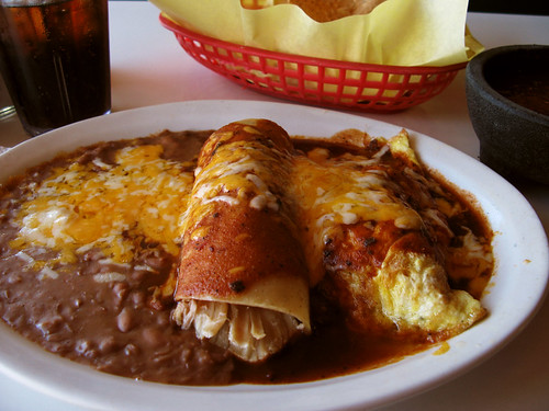 El Tarasco's Chicken Enchilada