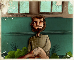 Christopher McCandless ou Alexander Supertramp? (Christiano Mere) Tags: christopher alexander draw mere ilustrao supertramp christiano mccandless