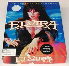 Elvira, Mistress of the Dark game box front