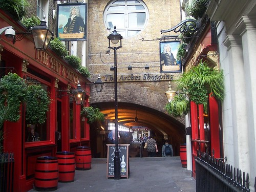 The Ship and Shovel, Charing Cross, London