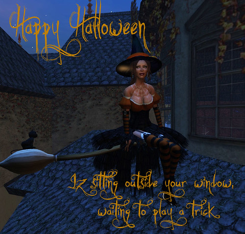 Trick or Treat...Shhhh!  I bewitched your poseballs.