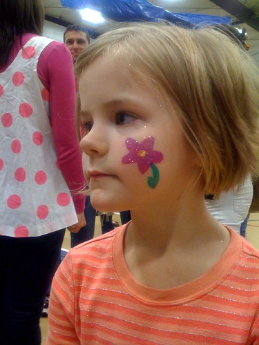 Fun Fair Flower Face