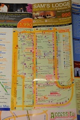 Khaosan Map, Bangkok Map and Airport Guide