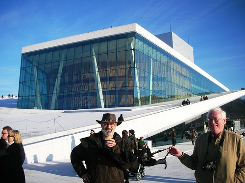 Olga at Oslo New Opera House #2