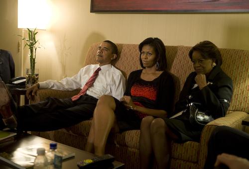 Barack Obama en la intimidad
