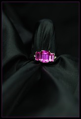 pink in satin (tiffa130) Tags: pink black gold three nikon stones stock creative free commons ring jewellery cc creativecommons stockphotos jewlery jewelery dslr tourmaline jewel stockphoto whitegold nikoncamera preciousstones freepics flickrstock tiffa photobytiffany nikondslr colorblack freestock 10millionphotos pinktourmaline nikond40x d40x freestockphotos freestockphotography tiffanyday photosbytiffa photobytiffa
