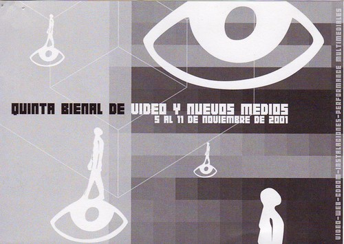 Bienal de video y artes electronicas, Santiago, 2001