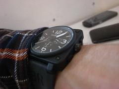 Bell & Ross (Tony Hanna) Tags: arm watch wrist ricohgrdigital bellross