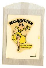 Washington DC Decal (Drive⏎) Tags: travel dc washington decal waterslide