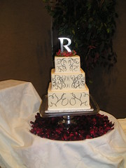 Calligraphy cake