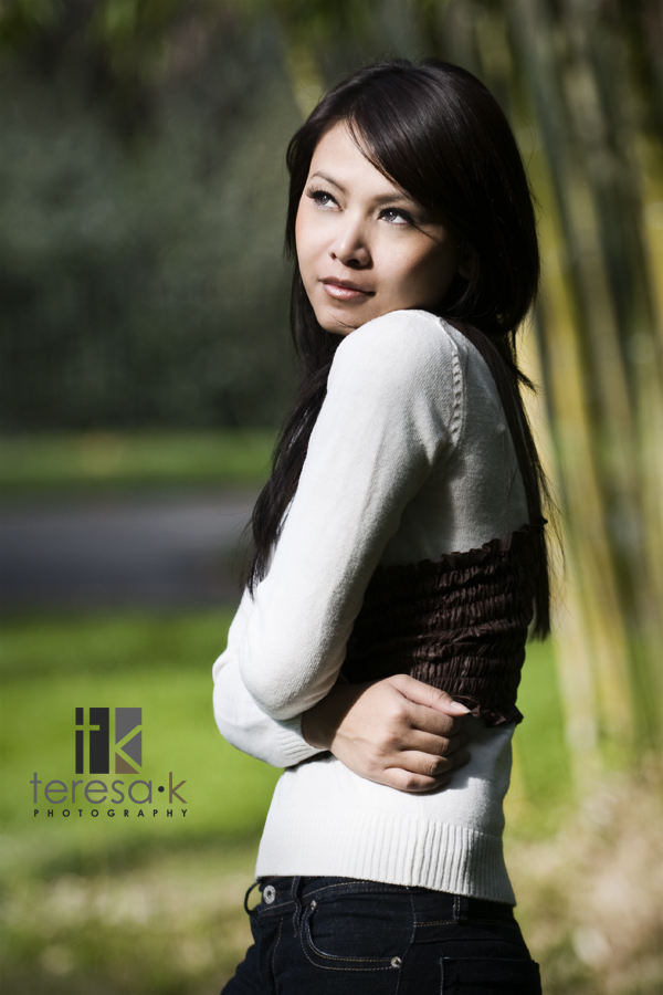 Portfolio pictures for local talent Soriya Koy by Sacramento portrait photographer Teresa K of Teresa K photography