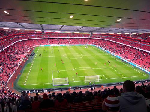 Arsenal-Stadion innendrinne