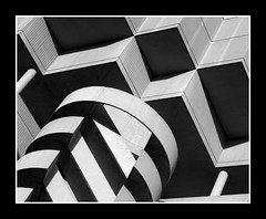 Abstract in Concrete (G-daddyArt) Tags: shadow abstract spiral concrete ramp garage parking gray cube platinumheartaward elitephotography theperfectphotographer