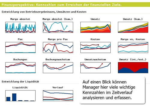 Management Dashboards im Intranet