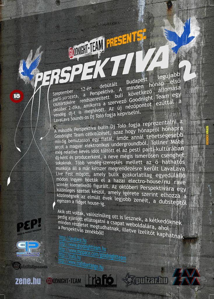 Perspektiva no.2 Flyer back (kiralyandris) Tags  party streetart birds lava  team 8060d24393