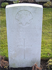 W.J. Abernethy, 1944, War Graves, Brookwood, Irish Guards