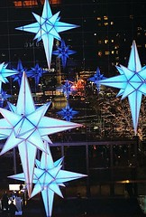 It's Beginning to look TOO much like Christmas (~RichArtpix~) Tags: christmas nyc blue urban holiday color festive stars lights manhattan noel christmaslights christmasdecorations brightlights timewarner bluestars tooearly bluelights christmasinthecity colorfulstars happyholdays