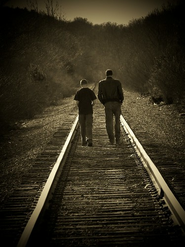 Going Home (Sepia)