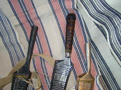 handles (Yugan Dali) Tags: knife taiwan aborigine cloth weaving indigenous 刀 泰雅 laraw 番刀