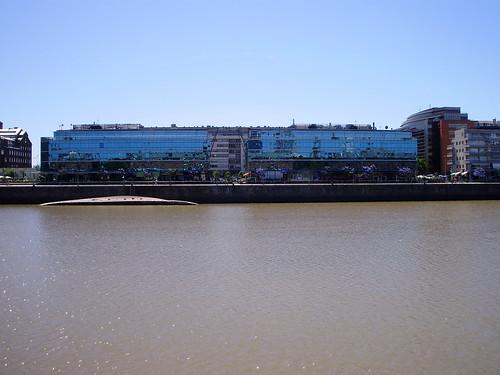 Puerto Madero - espejos