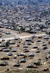 Refugee camp in Malawi