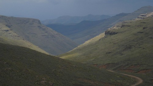 A view deeper into Lesotho