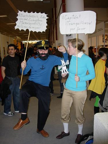 Capitán Haddock y Tintín