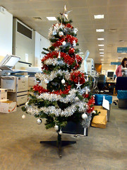 Office Christmas Decorations #1